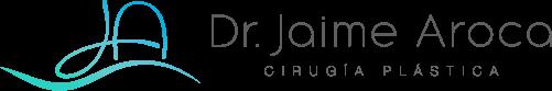 Logo horizontal Jaime Aroca - Cirujano Plástico
