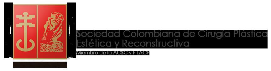 Logo Sociedad Colombiana de cirugía plástica estética y reconstructiva